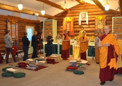 Circumambulating the Meditation Hall . . .