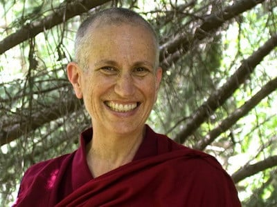 "Livestream: Ven. Thubten Chodron on ""Parting from the Four Attachments"""