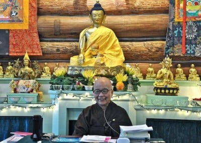 After the Varsa rites, Ven. Heng Cheng begins a series of wonderful teachings on the Vinaya.