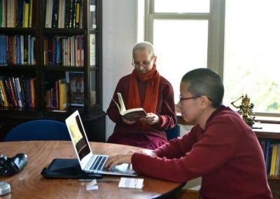 Nuns reading