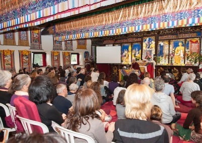 More than 100 people attend the retreat.