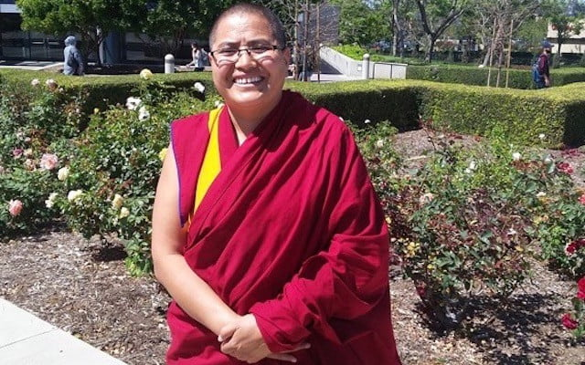 New Geshe Nun Visits the Abbey