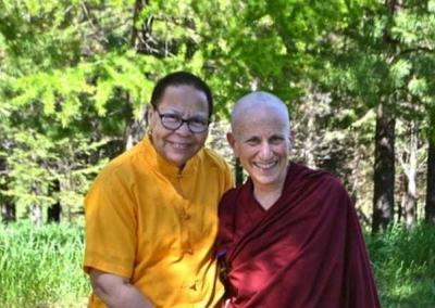 Two Dharma sisters reconnect.