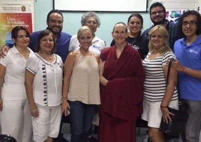 A sincere group of Dharma friends from FPMT's Langri Tangpa Study Group.