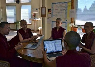 Ven. Chodron advises program committee for Vinaya in the West.
