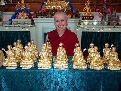 Celebrate Ven. Chodron's 40th Monastic Anniversary