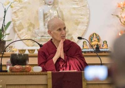 Venerable Thubten Chodron relates how the Abbey practices the various aspects of the Vinaya.
