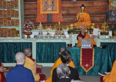 Ven. Chonyi helps us understand the meaning of the Vajrasattva mantra.