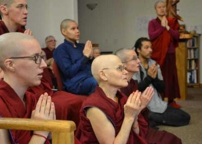"""Homage to our root teacher, Shakyamuni Buddha."""