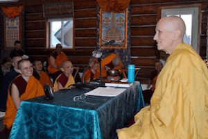 Thubten Chodron teaching