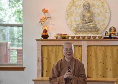 Ven. Jenkir gives a Bodhisattva's Breakfast Corner talk to help us Focus on the Causes.