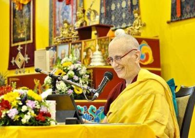 Ven. Chodron introduces the Amitabha practice.