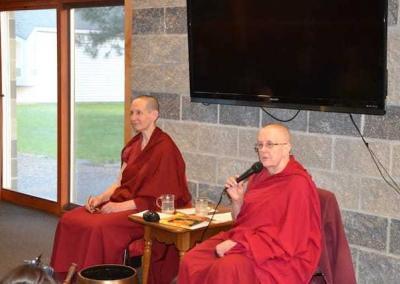 Vens. Tsepal and Jigme continue to teach weekly meditation classes at UU Church of Spokane.