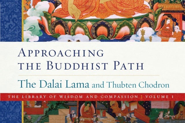 book cover: Approaching the Buddhist Path