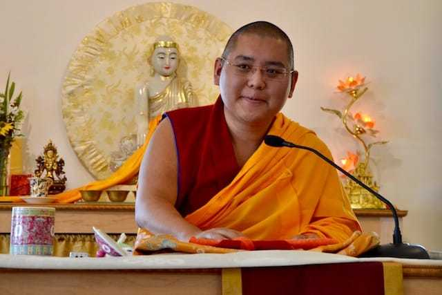 Ling Rinpoche's Visit