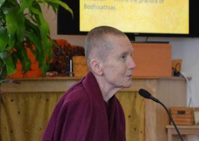"Ven. Sangye Khadro gives a BBC commentary on the beautiful text, ""The 37 Practices of Bodhisattvas."" The series is on YouTube too."