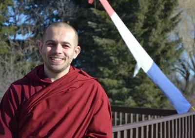 Ven. Tenzin visiting from Russia