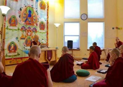 Ven. Chodron is giving weekly teachings on the Vinaya