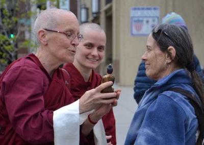 Ven. Semkye explains Shakyamuni Buddha's deep connection with nature.