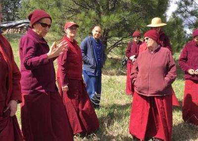 Ven. Chodron shares the vision for a future new temple.