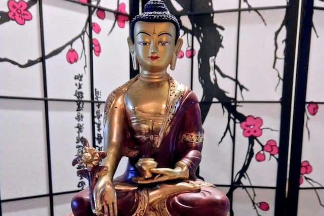 Tea with a Buddha