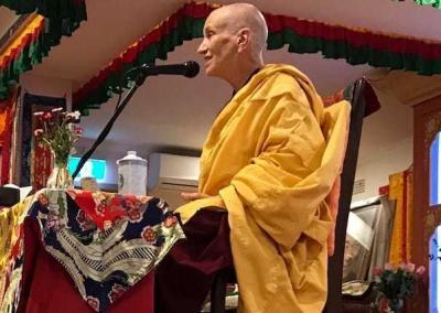 """Ven. Chodron teaches about karma from """"The Foundation of Buddhist Practice."""""""