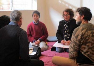 Discussion groups help bring the teachings to life.
