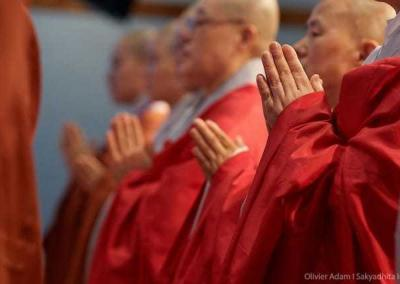 Korean nuns are a beautiful presence at the conference.