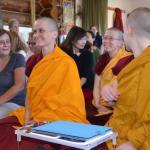 crowd of seated nuns and