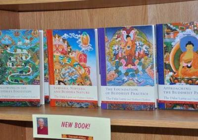"""Ven. Chodron teaches from the new book, """"Following in the Buddha's Footsteps."""""""