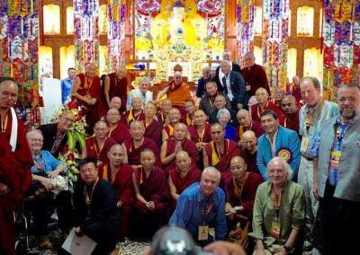 Luminaries from the East and Wests speak at the conference, presided over by His Holiness the Dalai Lama.