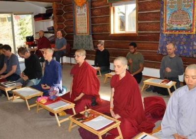 As we focus on the Buddha of Compassion, we create an extraordinarily gentle, yet profound and transformative retreat experience.
