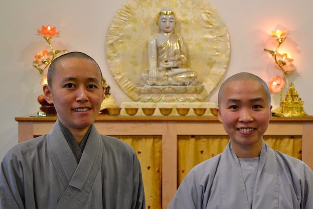 Guest Nuns from Taiwan and Vietnam