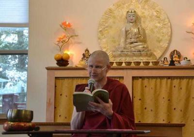 Ven. Losang shares on our BBC – YouTube channel his personal reflections on some of Shantideva's verses.
