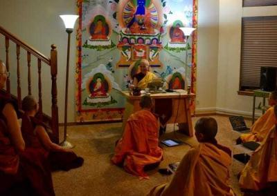 "Ven. Chodron teaches every Friday from ""The Foundations of Buddhist Practice"" by His Holiness the Dalai Lama and herself."