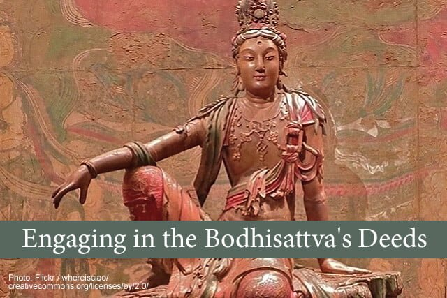 Livestream: Engaging in the Bodhisattva's Deeds