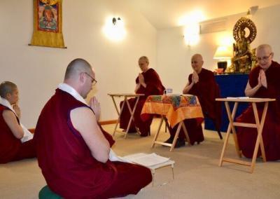 Monastics request training.