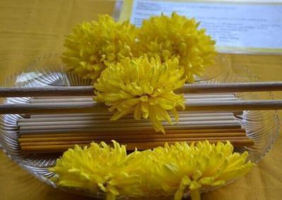 Sticks for stick ceremony.