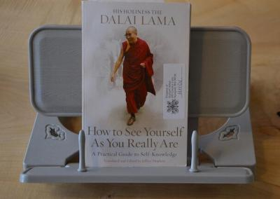 """Book by His Holiness the Dalai Lama """"How to See Yourself As You Really Are."""""""