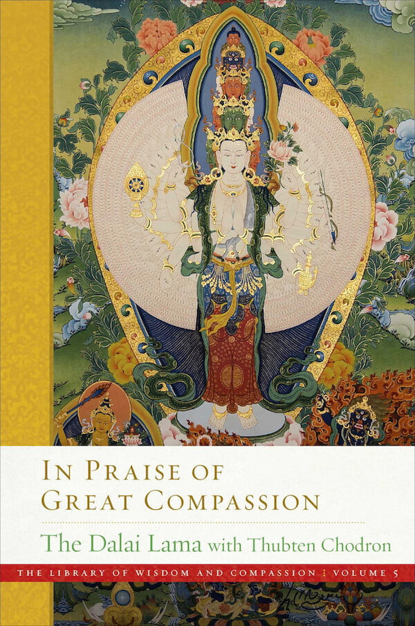 """""""In Praise of Great Compassion"""" book cover"""