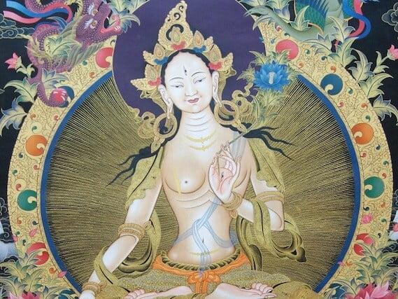 YouTube: White Tara Puja for Ven. Chodron