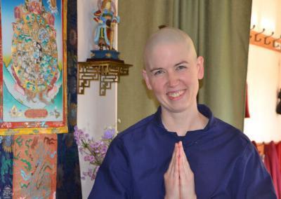New monastic trainee.