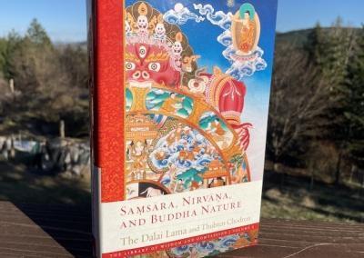 """Samsara, Nirvana, Buddha Nature"" book."