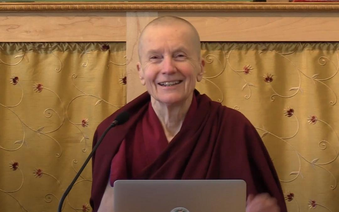 Online: Fearless Compassion with Ven. Sangye Khadro