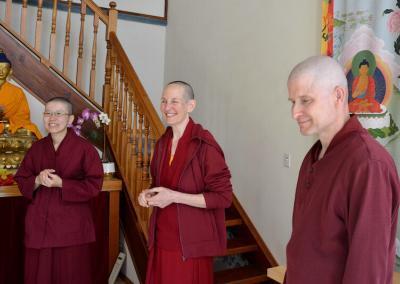 Monastics meet.