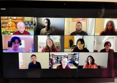 Young Adults Explore Buddhism online course.