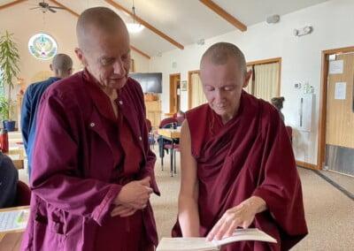 Nuns decide on prayers.
