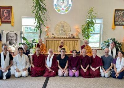 Exploring Monastic Life retreat participants.
